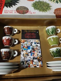 Illy collection texture of home- designer Francis ford Coppola  - limited art edition met doos en documenten .