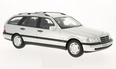 Bos Models - Scale 1/18 - Mercedes C220 T-Modell (S202) 1996 - Silver