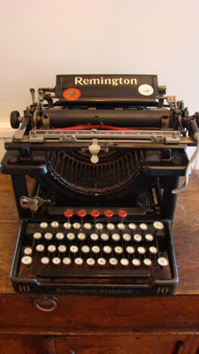 Remington typewriter nr 10, 1921