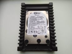 "Western Digital VelociRaptor 1TB - extremely fast SATA-600 disk - 10.000 RPM - complete with 3.5"" bracket / cooling ribs"