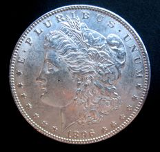"United States - 1 Dollar ""Morgan"" 1896 - Silver"