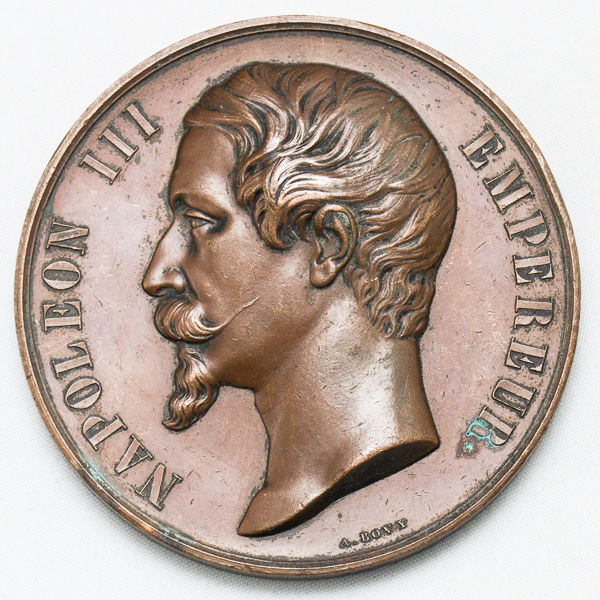France - Medal 'Napoleon III / Decree of May 3rd 1859' - Copper