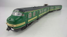 Fleischmann H0 - 4472 - Two-part Series Mat '64, Plan V of the NS in green livery