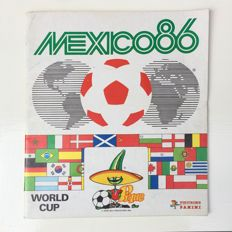 Panini - Mexico '86 - Incompleet album.