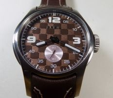 Breil Milano - Chocolate F1 Flag Dial - Screw Crown - 2010 - Men's Wristwatch