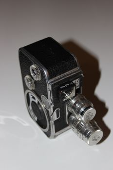 Paillard Bolex B 8 film camera Normal8/Doppel8