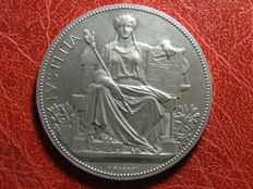 Algeria (French Colony) - Medal 'Hommage du Tribunal de Commerce d'Alger' 1932 by A. Borrel - Silver