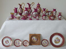 Limoges France collection - 23 pieces of porcelain