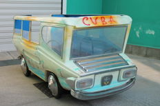Minibus from the 60s by Fratelli Barbieri - Cuban version