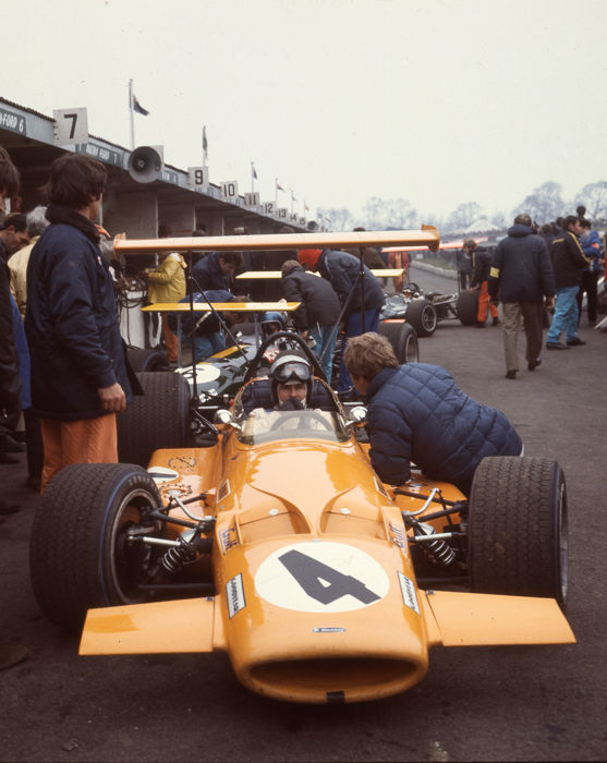 Bruce McLaren Brands Hatch Colour   Photograph 54cm x44cm