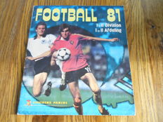 Panini - Football 81 - Belgian league - Complete album