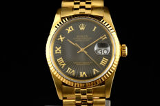 Rolex Day-Just 18K gold ref 16018 from 1985
