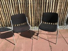 Giancarlo Pireti for JSC Castelli – 2 stackable chairs