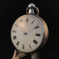 In Sownley - rack lever - men's pocket watch - open face - rare - 1825