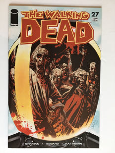 Image Comics - The Walking Dead #27 - NM - Rare - 1st Appearance Of The Governor - 1st print - 1x sc - (2006)