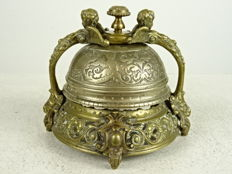 A very decorative hotel bell - France - second half 19th century