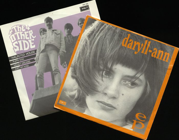 Two records from the infamous 'Kelt' record label incl. Daryll-Ann (debute) and The Other side