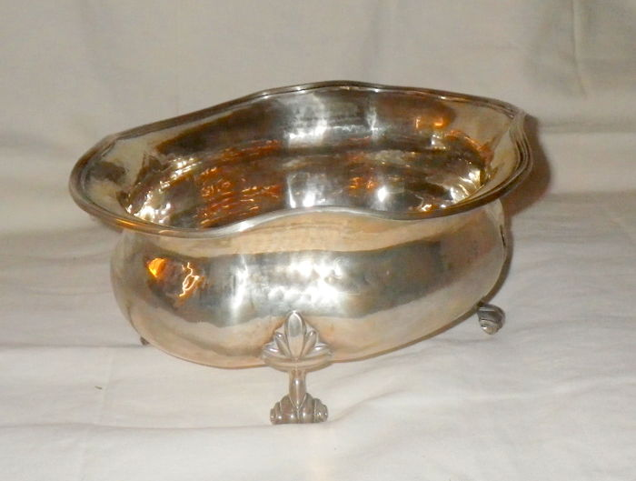 Very Large and Heavy Silver Bowl - Italy - 20th century