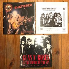 A Great Guns N' Roses lot || 3x LP || Limited Editions!