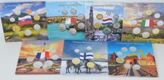 Europe – Various coin sets (7 pieces)