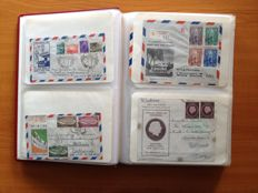 Suriname 1938/1975 - Collection of 280 FDCs in two albums