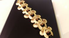 Gilt with 14K Gold Bracelet-Italy Handmade