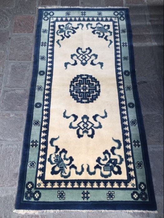 Peking rug, China, size 180 x 100