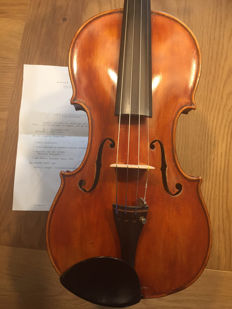 French violin by Michael Bernandel
