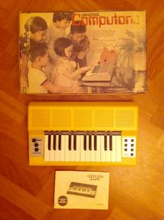 Universal Computer Organ (Computone) - Vintage Portable Elektrisch Orgel/Synthesizer/Keyboard (197x) - Collector's Item