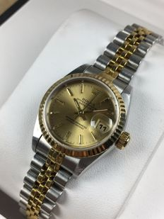 Rolex Lady - Datejust Automatic, ref.: 69173 No holes + extra dial - women's watch