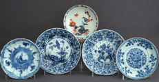 Porcelain saucers - China - 18th century