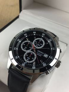 Seiko Chronograph, reference: SKS571P1 - men's watch