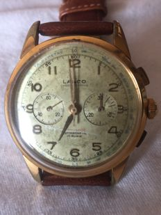 LANCO CHRONOGRAPH, military style, from 1940-1949 (vintage)