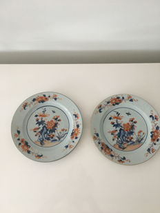 Two Imari plates – China – 18th century