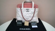 Chanel - Spacious bag with handles and shoulder strap