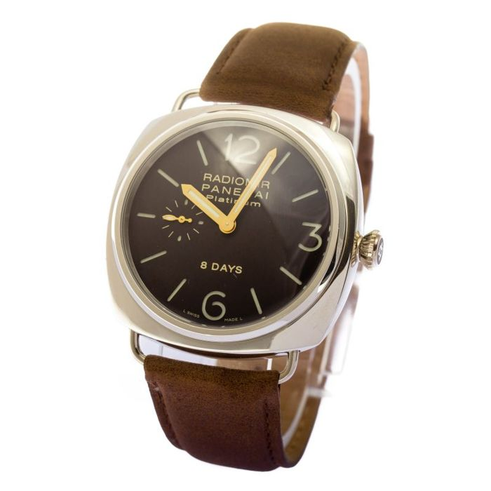Officine Panerai - Radomir Platinum 8 days - PAM 198 - Hombre - 2000 - 2010