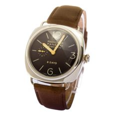 Officine Panerai - Panerai Radomir Platinum 8 days -mens watch  - PAM 198 - Men - 2000-2010