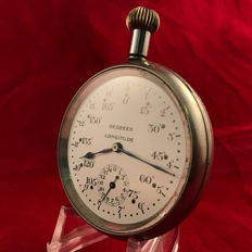 Electa - Men's pocket watch - Degrees longitude - Ca. 1920 - Sidereal time