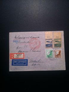 Europe 1890/1940 - Collection of postcards, stamps, commemorative envelopes.