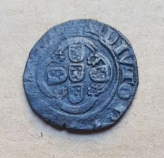 Portugal – Meio Real of Ten Soldos – Lisbon – Stars in the Epicycloid –  D. João I . Very Rare