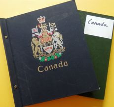Canada 1870's/1980's - Collection in Davo album and stockbook