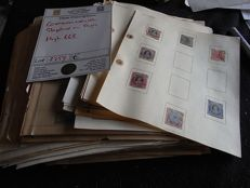 British Commonwealth 1860/1970  - Large collection on many  pages