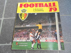 Panini - Football 79 - Belgian league - Complete album.