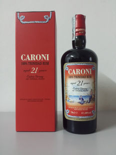 Rum Caroni 1996  21 Years Distilled in Trinidad by Velier