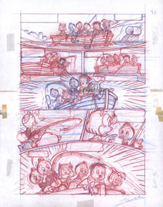 Z. Vendetta -  Original Production Page #8/12 (90's) - The Nephews and the Clint Family