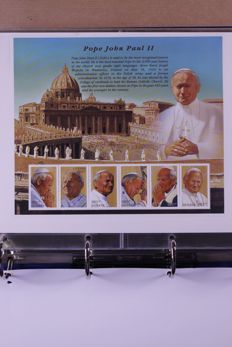 Vatican and Papal travel 1970/2006 - Batch of FDCs/covers and stamps in 3 albums