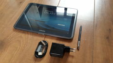 Samsung Galaxy Note 10.1 with charger + brandnew charger cable + original stylus, etc.