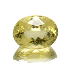 Yellow-green apatite - 2.87 ct - No Reserve Price