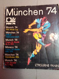 Panini - World Cup Munich 1974 - Complete album.