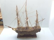Sailboat from pearl h.m.j Victory 1765.